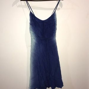 Madison Marcus blue ombré strap dress